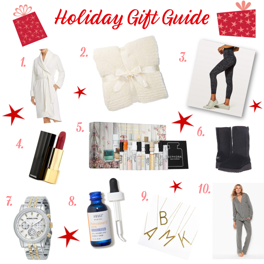 Holiday Gift Guide Christmas Gift Help Gifts All Women Would Love Gift Giving for Wife Mother Friends Secret Santa